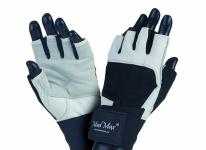 MAD MAX Fitness Gloves PROFESSIONAL (white / black)