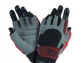 Mad Max Fitness Gloves CRAZY (grey / brown)