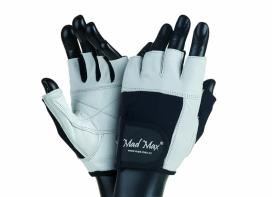 MAD MAX Fitness Gloves FITNESS white / black