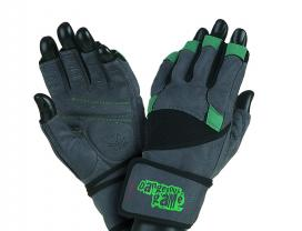 Mad Max Fitness Gloves Wild (dark gray / bottle green)