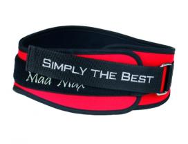 MAD MAX Fitness Belt Simply The Best (Blue)